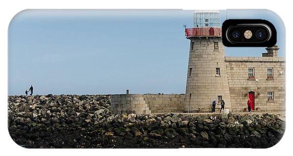 Harbour Entrance IPhone Case