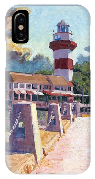 Harbour Town Light IPhone Case