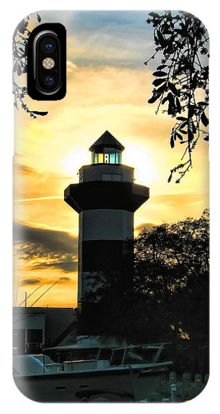 Harbour Town Lighthouse Beacon IPhone Case