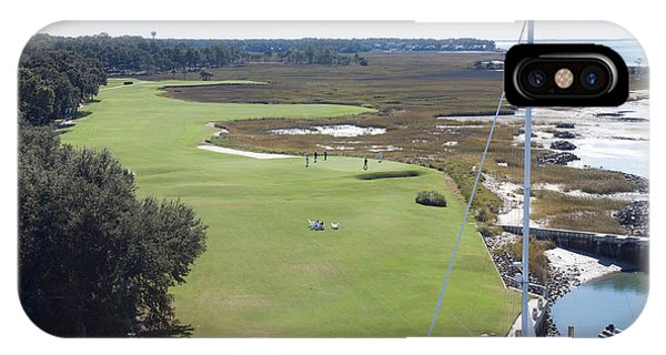 Harbourtown Golf Course 18th Hole IPhone Case
