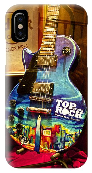 Hard Rock Electric Guitar IPhone Case