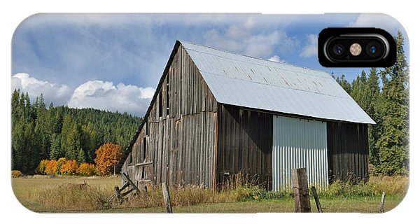 Hardy Creek Road Barn IPhone Case