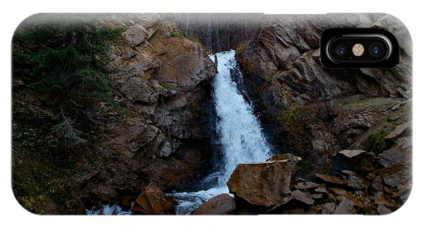 Hardy Falls Peachland Bc IPhone Case