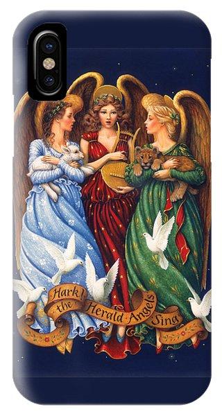 Hark The Herald Angels Sing IPhone Case