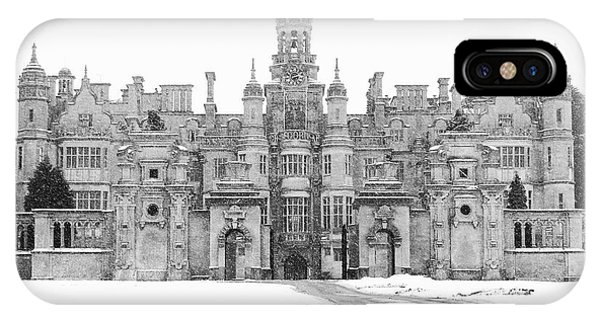 Harlaxton Manor IPhone Case