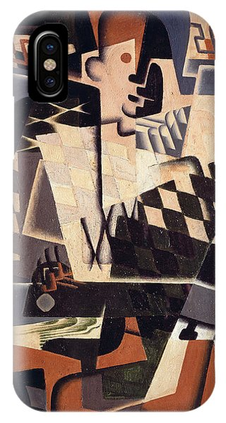 Harlequin With A Guitar, 1917 IPhone Case