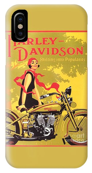Harley Davidson 1927 Poster IPhone Case