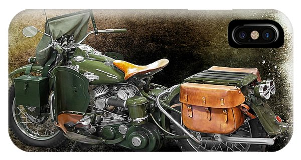 Harley Davidson 1942 Experimental Army IPhone Case