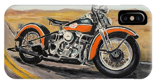 Harley Davidson 1946 IPhone Case