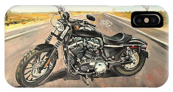 Harley Davidson 883 Sportster IPhone Case