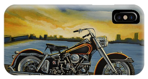 Design iPhone Case - Harley Davidson Duo Glide by Paul Meijering