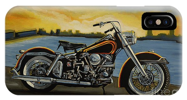 Style iPhone Case - Harley Davidson Duo Glide by Paul Meijering