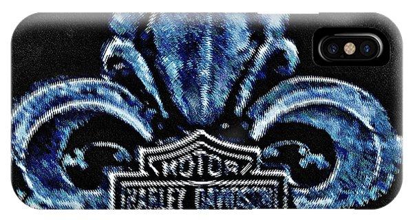 Harley Davidson Fleur De Lys Logo IPhone Case