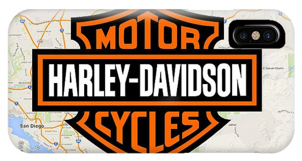 IPhone Case featuring the digital art Harley-davidson by Photographic Art by Russel Ray Photos
