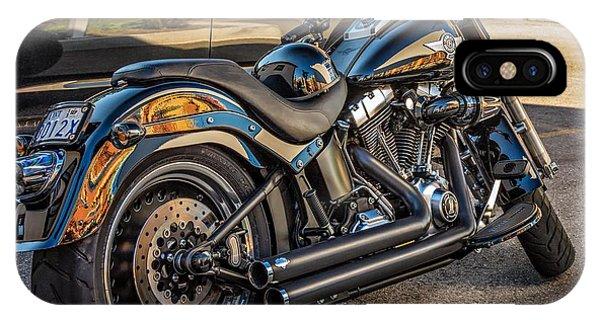 Steve Harrington iPhone Case - Harley Davidson by Steve Harrington