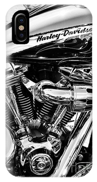 Eagle iPhone Case - Harley Monochrome by Tim Gainey