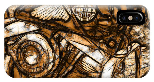 Harley Shovelhead IPhone Case