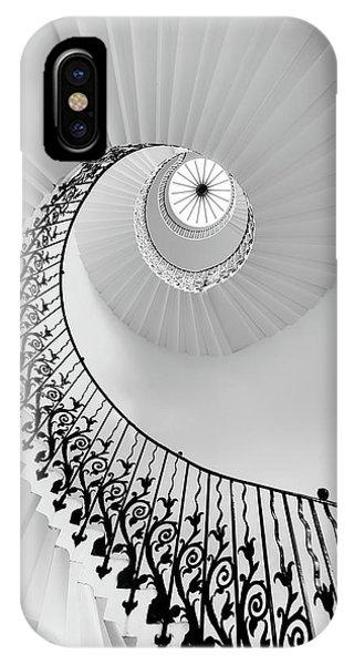 Staircase iPhone Case - Harmony - London by Hernan Calderon Velasco