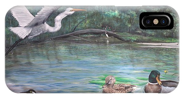 Harmony On The River IPhone Case