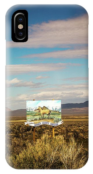 Representation iPhone Case - Harney County, Or, Usa. A Painted Horse by David Hanson