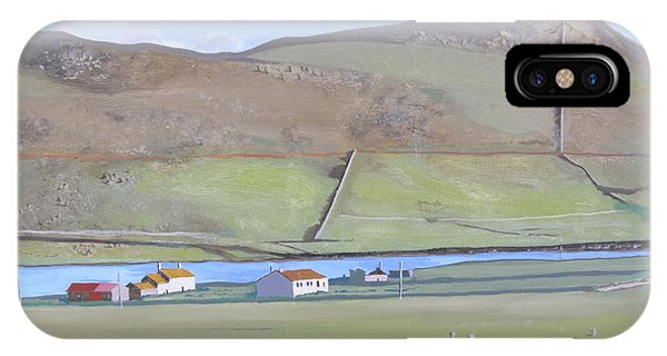 Haroldswick Shetland Islands IPhone Case