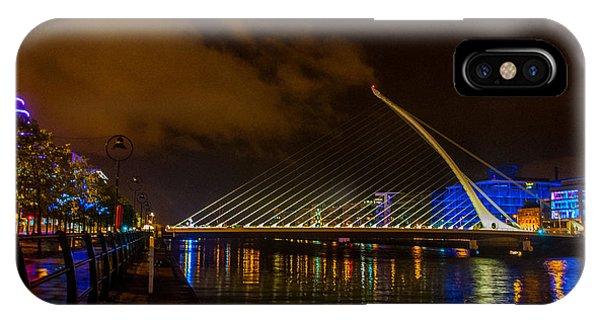 Harp Bridge Dublin IPhone Case