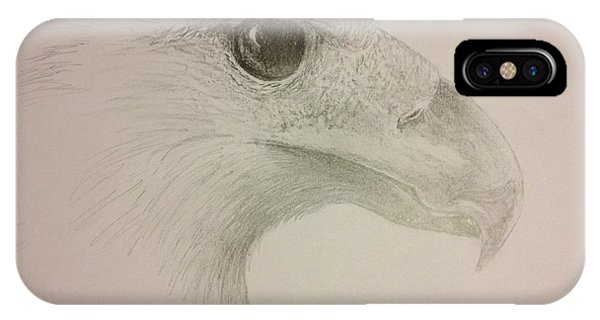 Harpy Eagle Study IPhone Case