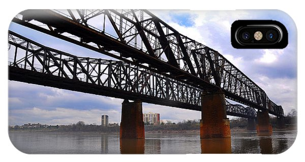 Harrahan Railroad Bridges Phone Case by Reese Lewis