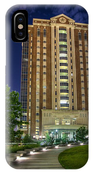 Harris County Civil Courthouse IPhone Case