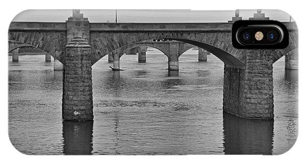Harrisburg Bridges IPhone Case