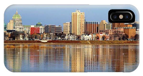 Harrisburg Reflections IPhone Case