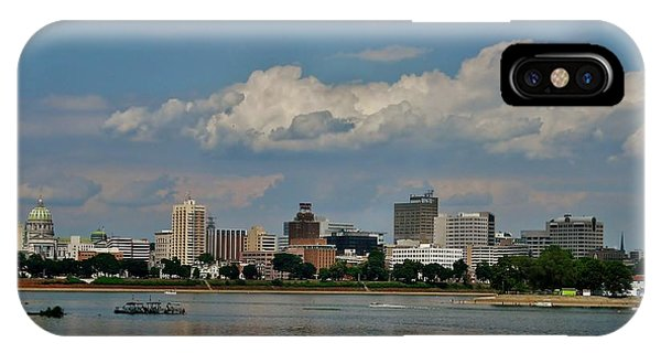 Harrisburg Skyline IPhone Case