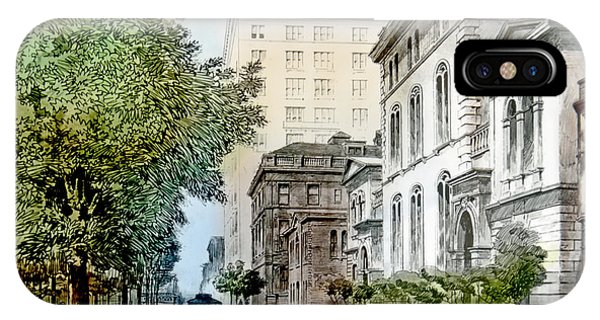 Harrison Residence East Rittenhouse Square Philadelphia C 1890 IPhone Case
