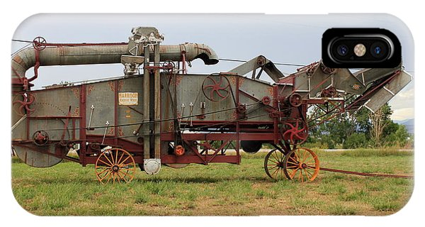 Harrison Threshing Machine IPhone Case