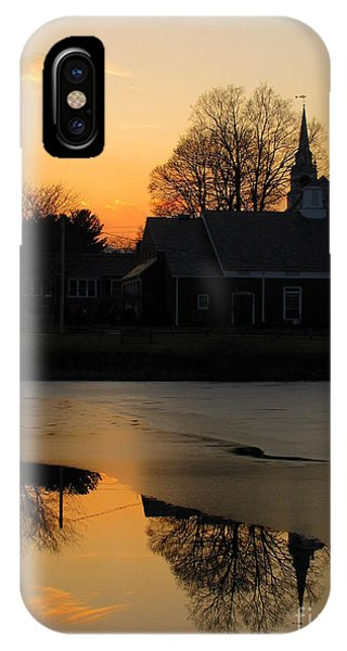 Harrisville Sunset IPhone Case