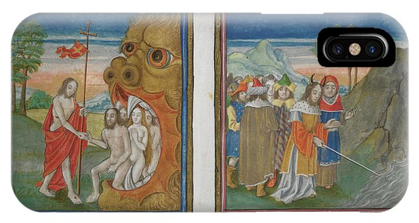 Harrowing Of Hell; Moses IPhone Case