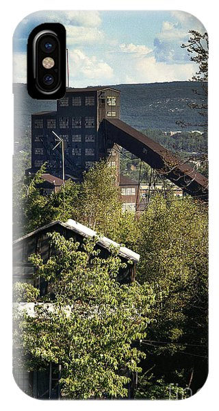Harry E Colliery Swoyersville Pa Summer 1994 IPhone Case