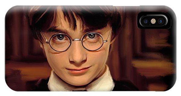 Wizard iPhone Case - Harry Potter by Paul Tagliamonte