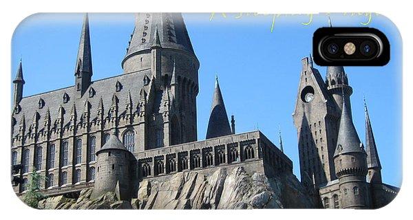 Harry's Hogwarts IPhone Case