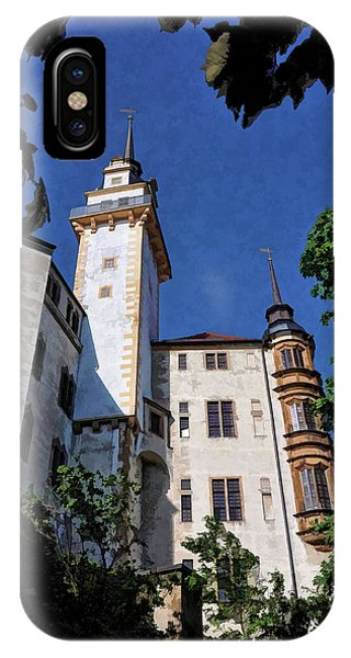 IPhone Case featuring the photograph Hartenfels Castle - Torgau Germany by Mark Madere