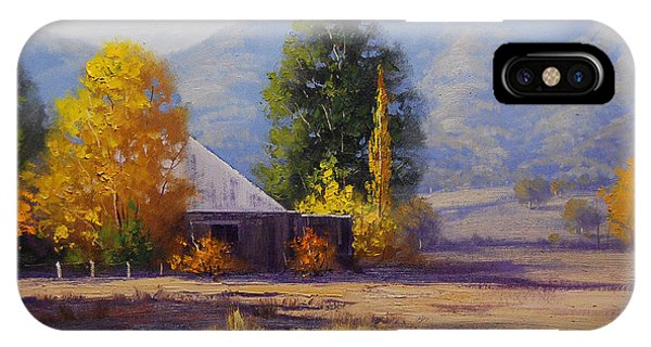 Amber iPhone Case - Hartley Autumn by Graham Gercken