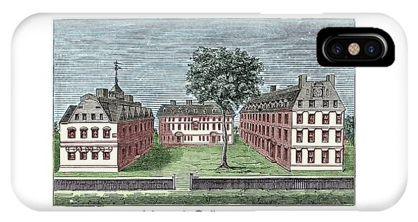Harvard College - 1720 IPhone Case