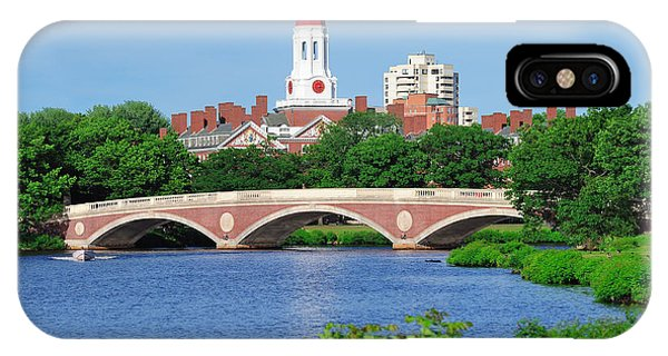 Harvard University Campus In Boston IPhone Case