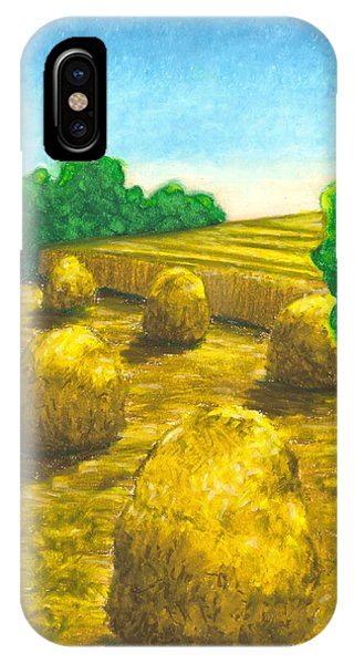Harvest Gold IPhone Case