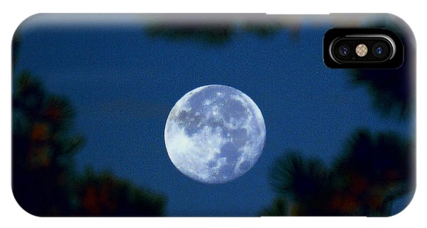 Harvest Moon Color 2013-10-20 IPhone Case