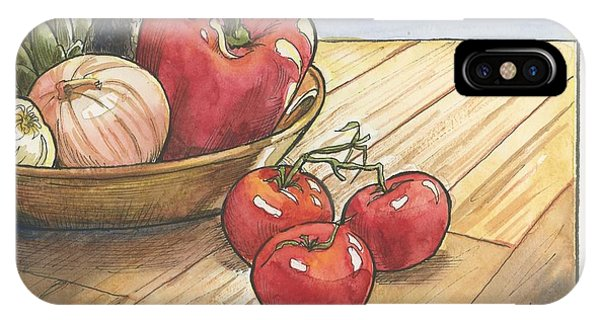 Harvest Table IPhone Case