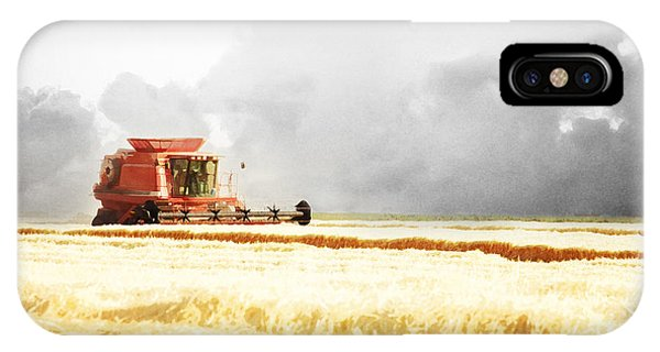 Harvesting The Grain IPhone Case