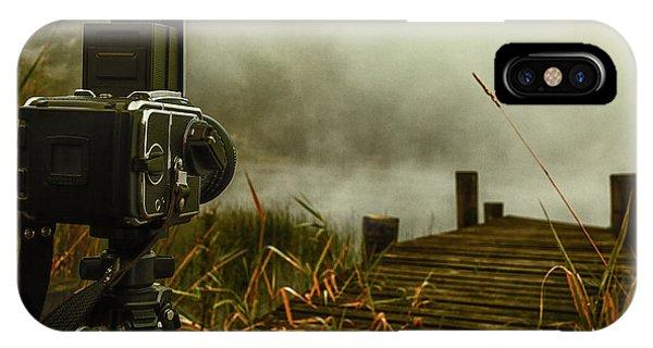 Loch Ard iPhone Case - hasselblad on Loch ard by John Farnan