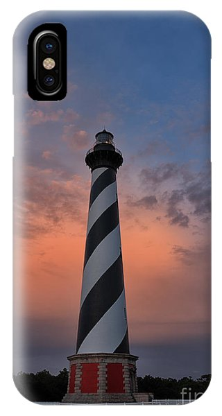 Hatteras Lighthouse Dawn IPhone Case