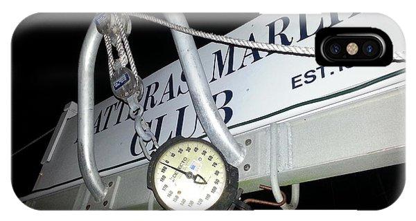 Hatteras Marlin Club Scales IPhone Case
